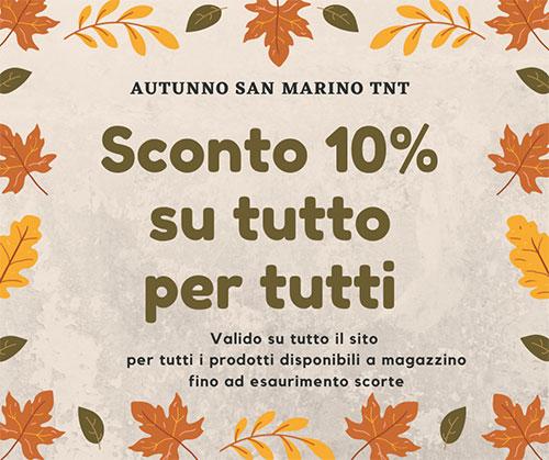 sconti autunno san marino tnt sconti d'autunno Sconti d'Autunno San Marino TNT autunno san marino tnt