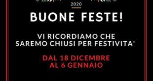 Chiusura per festività  Chiusura festività Natalizie 2020 low 310x165